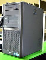 Системный блок, компьютер, Intel Core Quad, 4 ядра по 2,4 Ггц, 4 Гб ОЗУ DDR-2, HDD 1000 Гб. видео 512 Мб