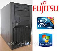 Системный блок, компьютер, Intel Core Quad, 4 ядра по 2,4 Ггц, 6 Гб ОЗУ DDR-2, HDD 160 Гб, видео 2 Гб