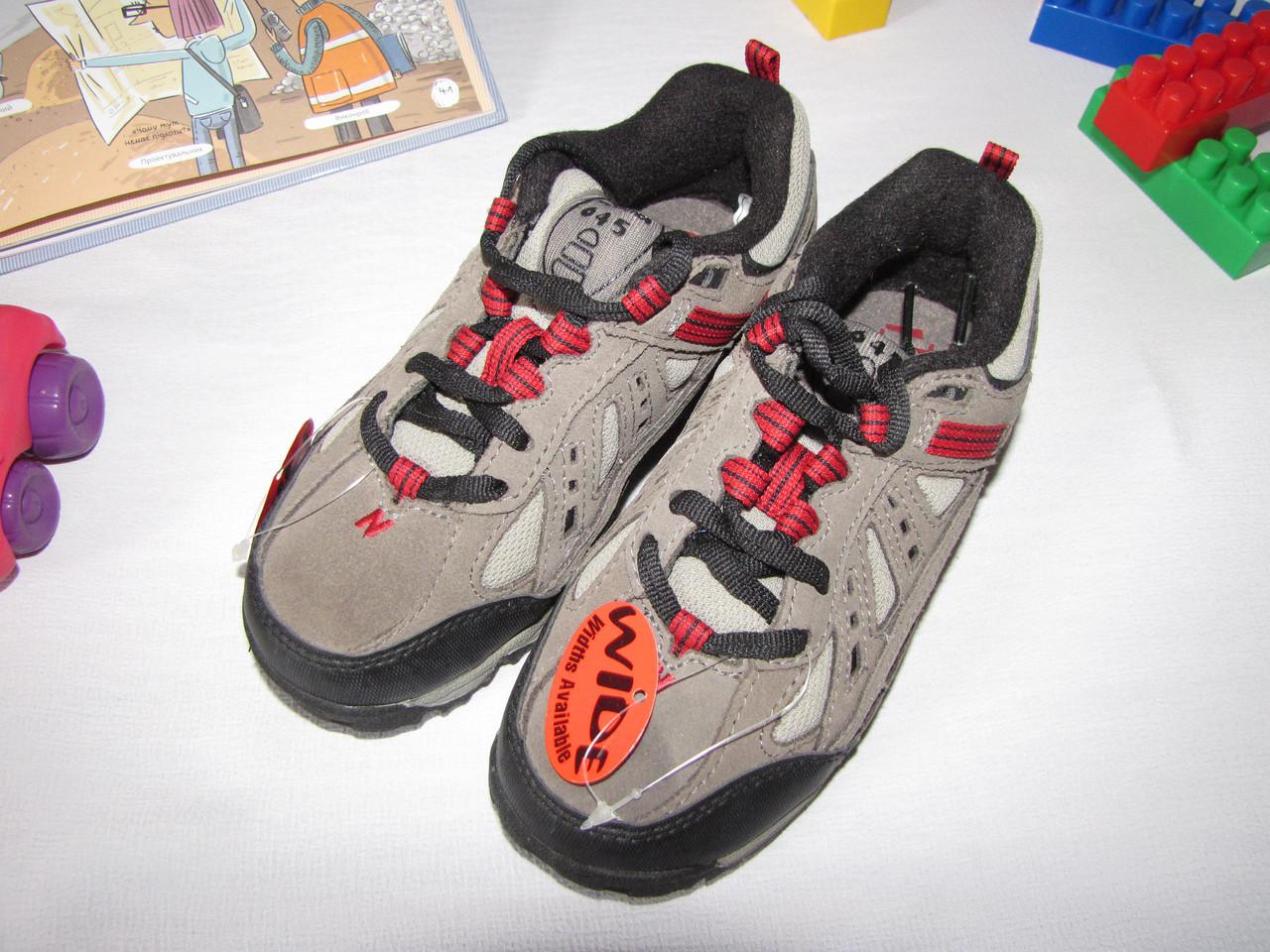 Кроссовки для мальчика осенние New Balance оригинал размер 30 серые 08017
