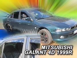 Дефлекторы окон (ветровики) MITSUBISHI GALANT 1997-2003r SEDAN(HEKO)