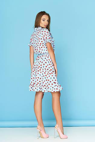 """Легкое летнее платье """"Ясмина 19"""" со стильным принтом, фото 2"""