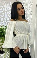 Блузка из стрейч-шелка  костр7788, фото 1