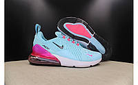 "Кроссовки Nike Air Max 270 Flyknit ""Blue Pink"" ( реплика А+++)"