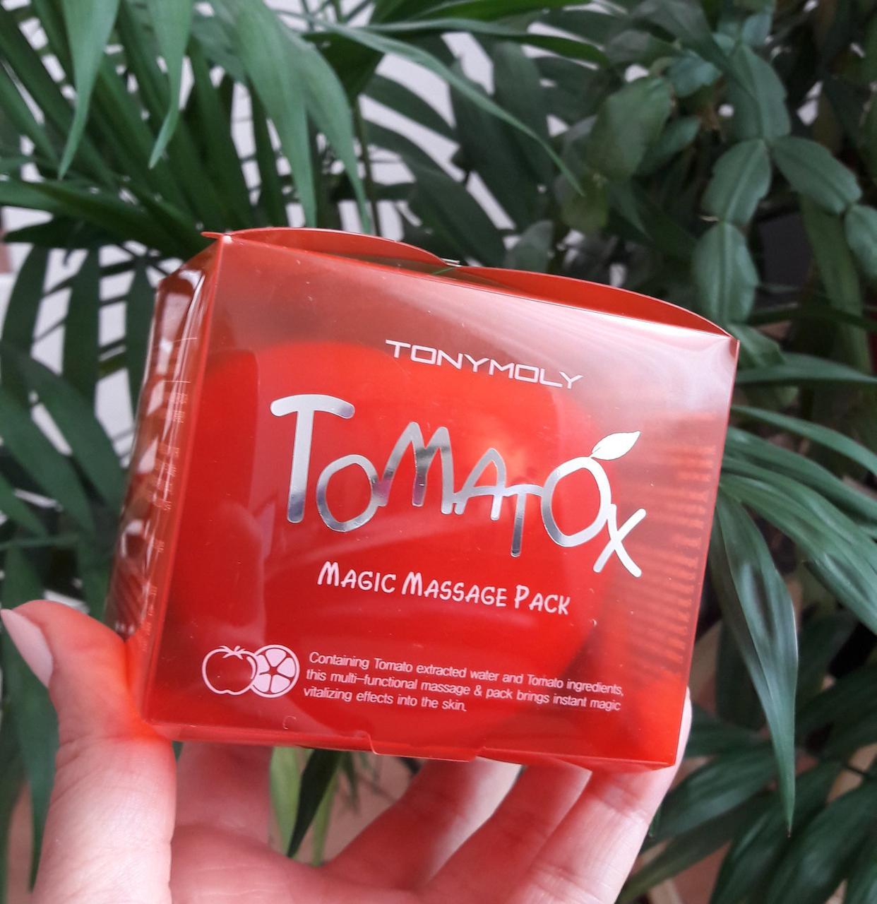 Маска томатная  TONY MOLY Tomatox Magic White