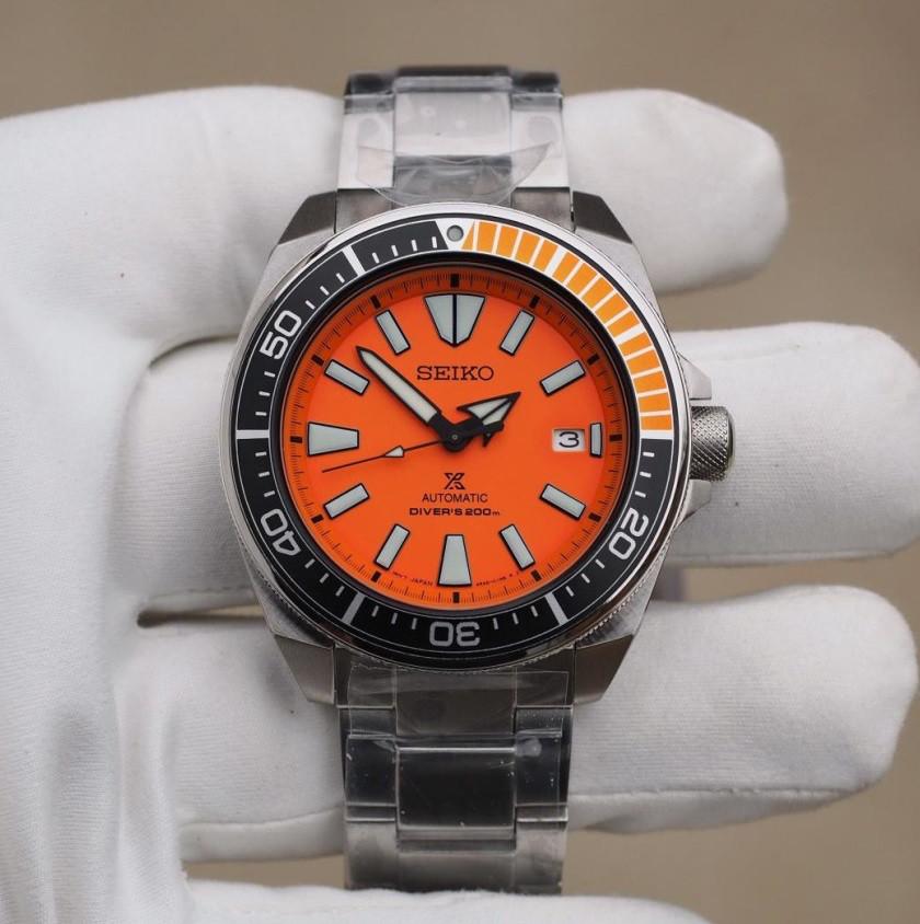 Часы Seiko Prospex Samurai SRPC07 Automatic Diver's 4R35
