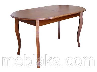 Стол деревянный раскладной для кухни «Эльза»
