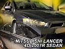 Дефлекторы окон (ветровики)  MITSUBISHI LANCER 2007r →2016 (HEKO), фото 2