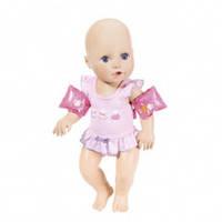Интерактивная кукла BABY ANNABELL Научи меня плавать (43 см, с аксессуарами, плавает в воде)
