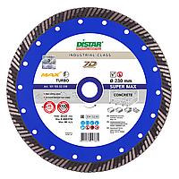 Алмазный отрезной диск по бетону Distar Super Max Turbo 232x2,6x15x22,23 (10115502018), фото 1