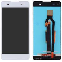 Дисплей (экран) для Sony F3311 Xperia E5/F3313 + тачскрин, белый, оригинал , фото 1