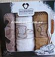 """Набір кухонних рушників махрових """"Bread"""" 30*50 см TW DOLPHINS 3 шт., Туреччина 029, фото 3"""