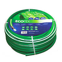 Шланг садовый Tecnotubi EcoTex для полива диаметр 3/4 дюйма, длина 15 м (ET 3/4 15), фото 1