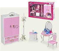 Меблі Gloria для ляльок 2318GB Гардеробна