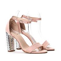 Женские красивые летние босоножки на широком каблуке  размеры 36-41, фото 1