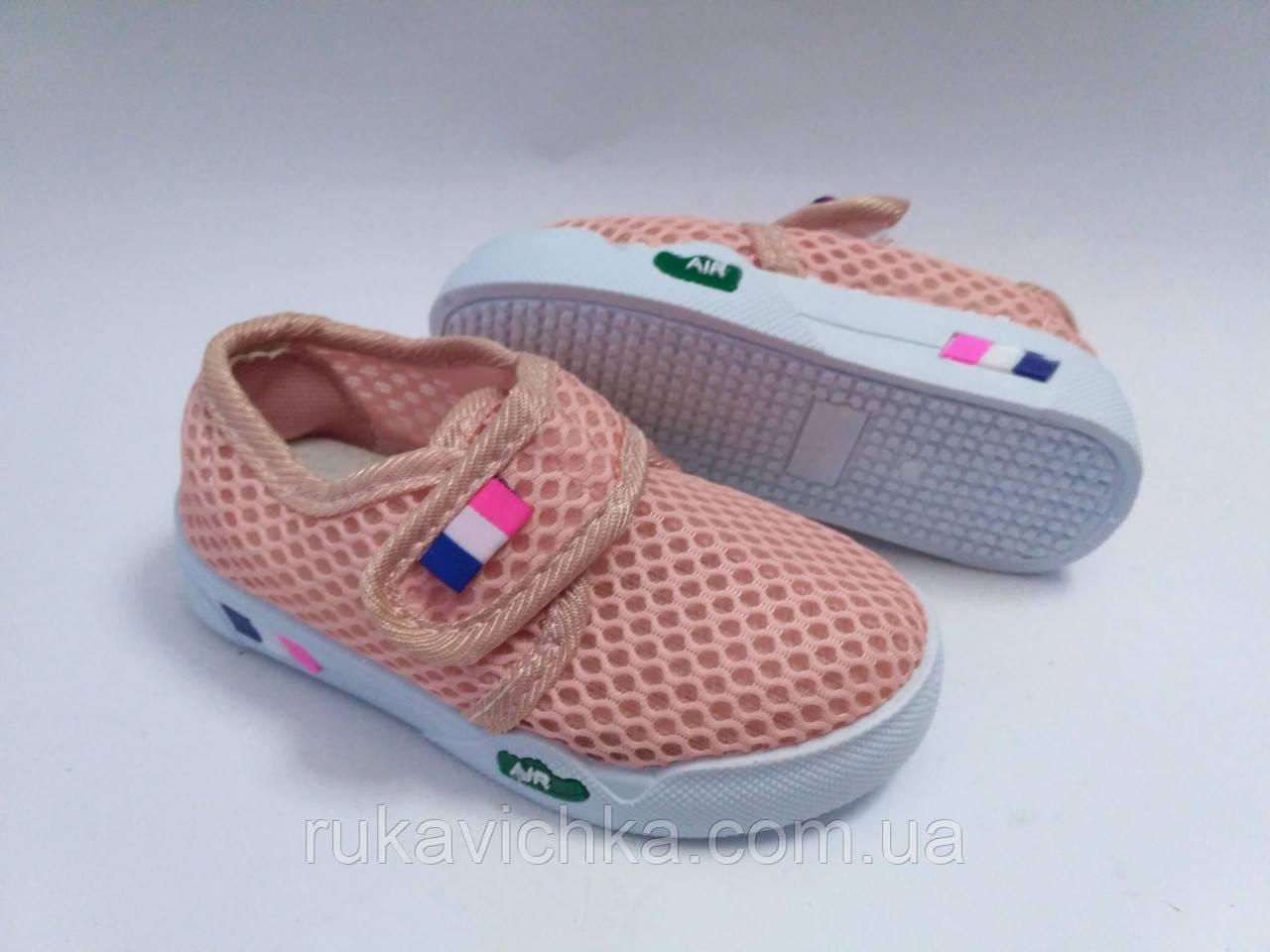 3297fe2d Летние тапочки кеды на липучке для девочки бренда Jong Golf (Vesnoe), р.