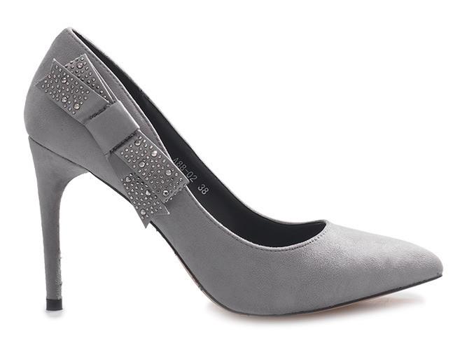 Женские стильные туфли на очень удобном каблуке с Польши