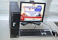 Компьютер в сборе  2x2,9\2ОЗУ\160HDD\монитор 17 д. /клава,\мыша, фото 1