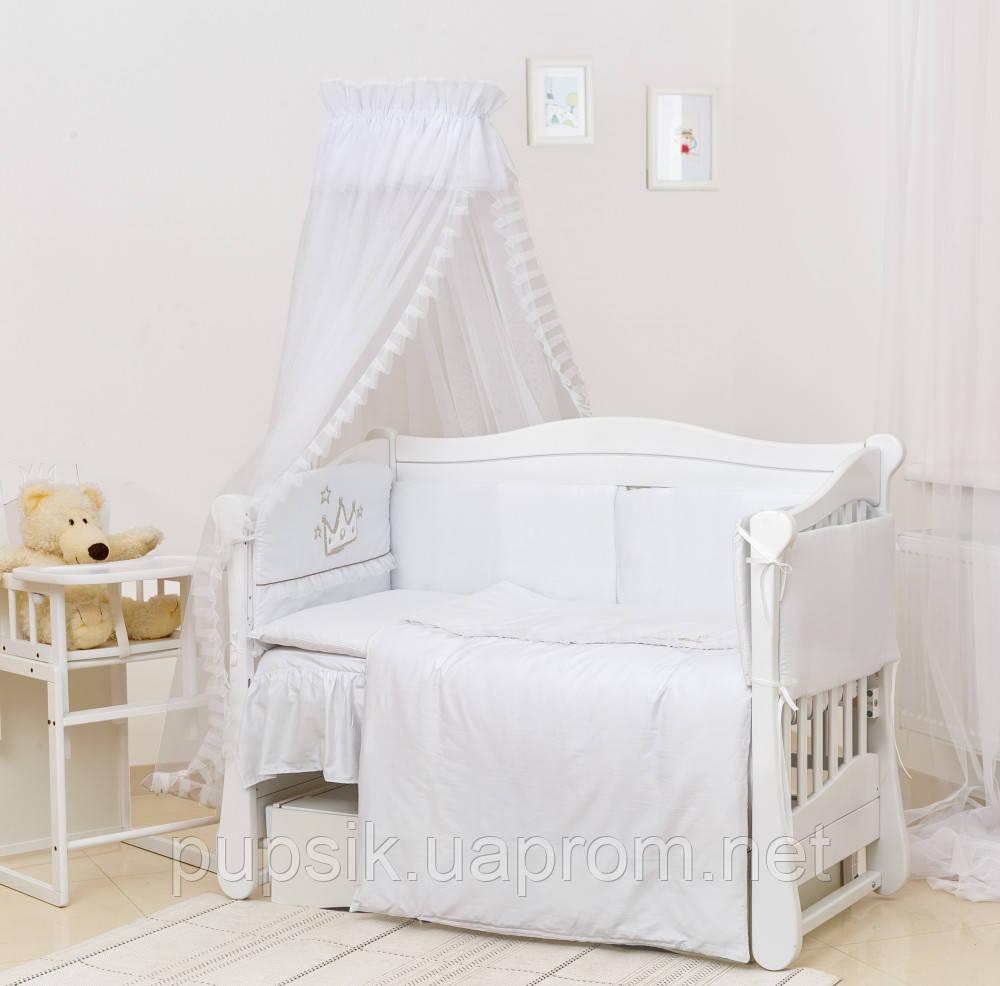 Детская постель Twins Romantik Vintage Baby R-004  (7 элементов)