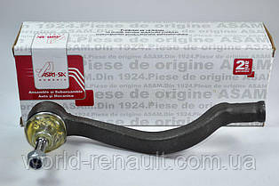 Наконечник рулевой тяги(правый) на Рено Логан, Логан MCV, Сандеро Stepway/ ASAM 30665