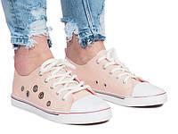Польские кеды, кроссовки женские, удобная обувь размеры 36-38