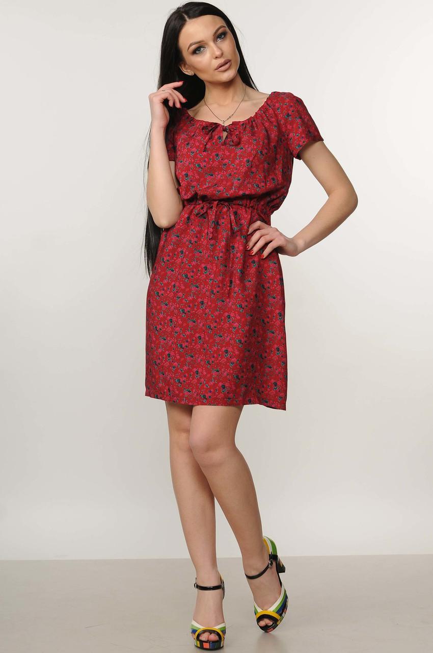 e5efa03946e087d Легкое свободное летнее платье с цветочным принтом из натуральной летней  ткани штапеля, 42-52 размеры