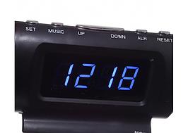 Автомобильные электронные часы KS-782 с термометром