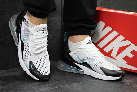 2f89c5d39a20 Летние мужские кроссовки Nike Air Max 270,белые  продажа, цена в ...