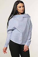 Жіноча сорочка вільного оригінального крою 42-52 розміри, фото 1