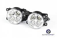 Фара дневной свет LED (левая + правая) Ford Fiesta 2013-