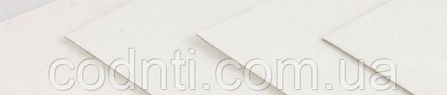 Хром-эрзац, размотка картона, плотностью 420г/м2, формат рулона 850мм
