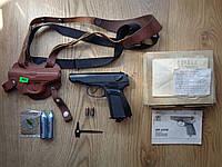 Пистолет пневматический Байкал Мр 654К + супер комплект + Новое воронение!!!