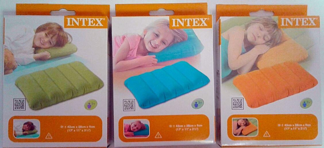 Надувная Подушка цветная 68676 Intex Китай
