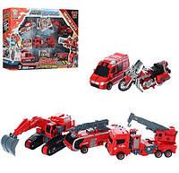 Трансформер 899-46 робот+5 видов транспорта