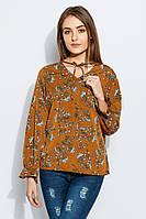 Блузка женская повседневная 961K006 (Цветочный принт)