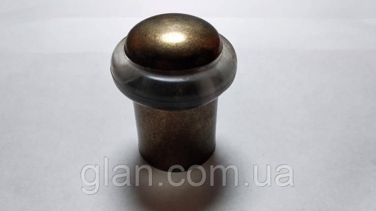 Відбійник підлоговий Н=50 бронза, фото 2