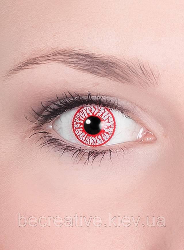 Устрашающие контактные линзы
