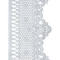 Декор кондитерський Добрик Мереживо для торта №2 марсала 10 шт./ящ.
