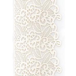 Декор кондитерський Добрик Мереживо для торта №3 біле 10 шт./ящ.