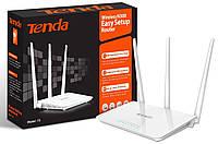 WiFi роутер TENDA F3, беспроводный маршрутизатор для дома, wi fi точка доступа, вай фай