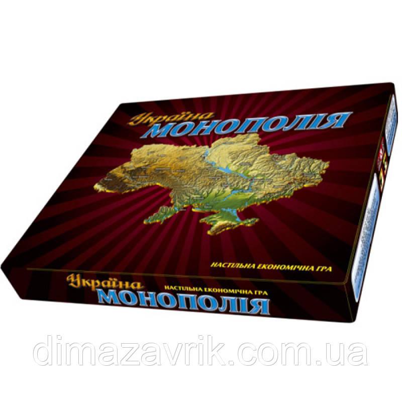 """Игра настольная """"Монополия Украина"""""""