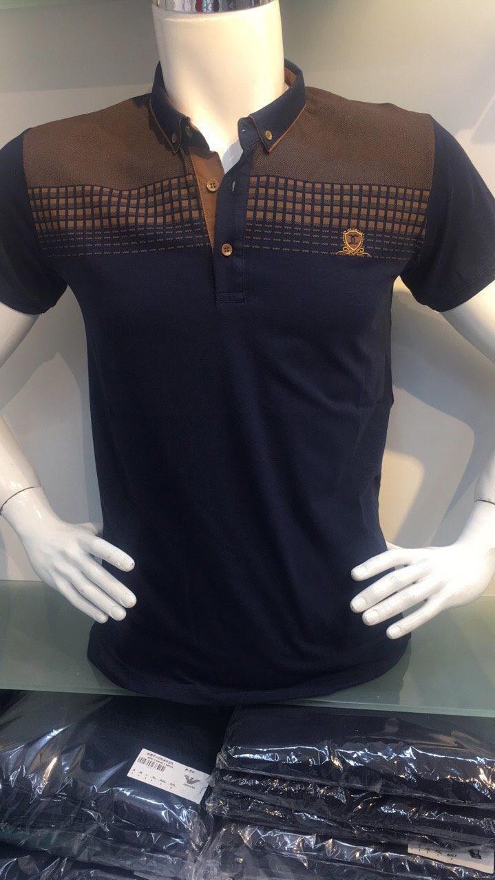 Чоловіча футболка з комірцем