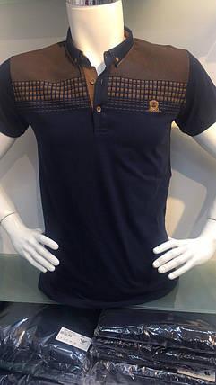 Чоловіча футболка з комірцем, фото 2