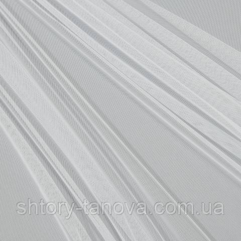 Тюль сетка, белый
