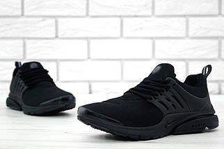 Мужские кроссовки Nike Air Presto Fleece Black, фото 2