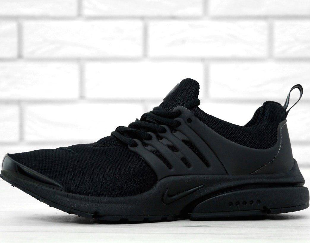 Мужские кроссовки Nike Air Presto Fleece Black
