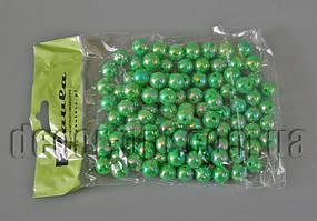 Намисто зелені перл. 10 мм 50 гр
