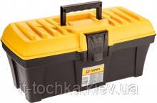 Пластиковый ящик для инструментов topex 79r121 размер 38*17*17 см