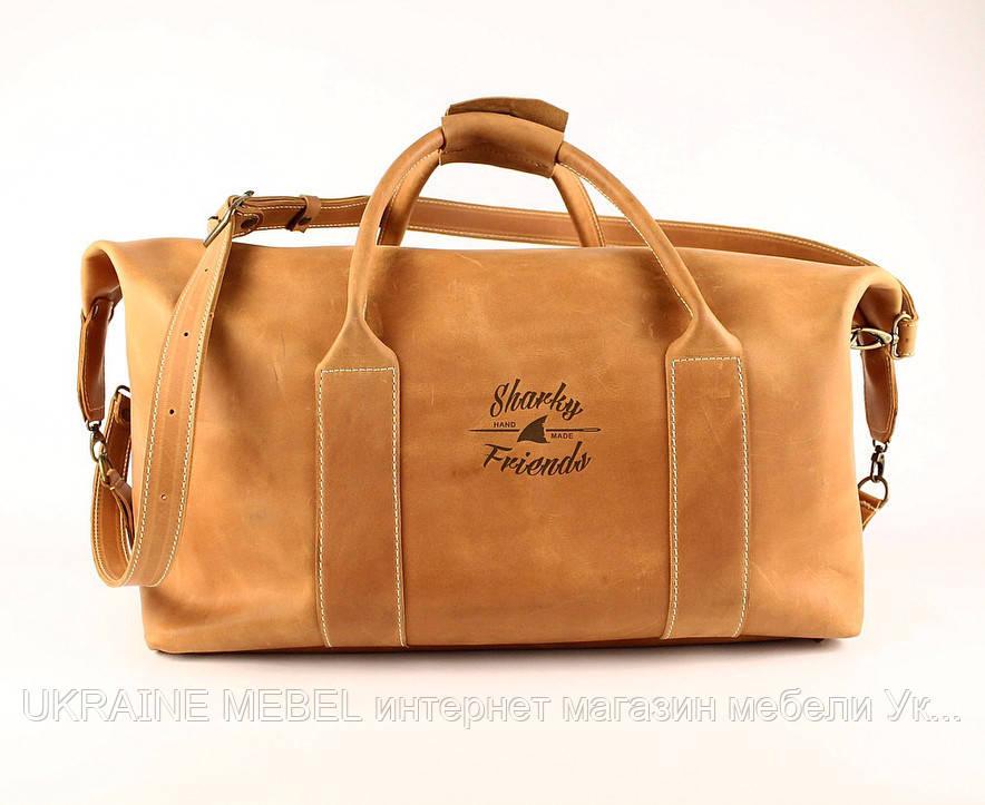 """Sport&Travel Standart"" брендовая кожаная сумка"