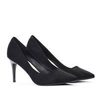Польские стильные и очень красивые туфли черного цвета