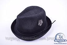 Шляпа женская тканевая (цв.черный) Z